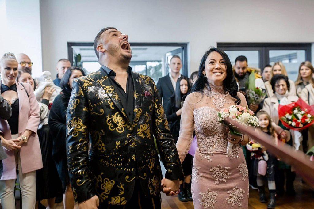 Roxana a devenit soția lui Liviu Guță în cadrul unei ceremonii care a fost organizată în secret la începutul acestei luni © Facebook