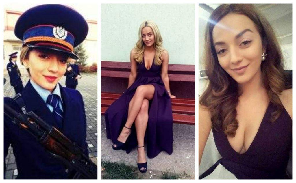 Roxana Lavinia Urs, cea mai sexy polițistă din Târgu Mureș