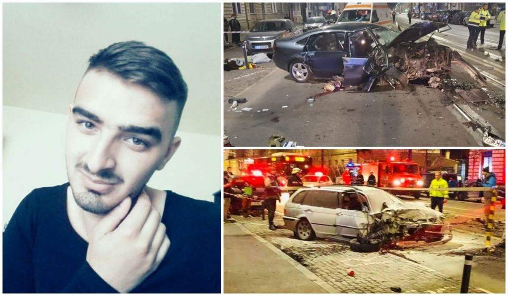 Accidentul mortal s-a înregistrat seara trecută pe strada Horea din Cluj-Napoca © observator.tv