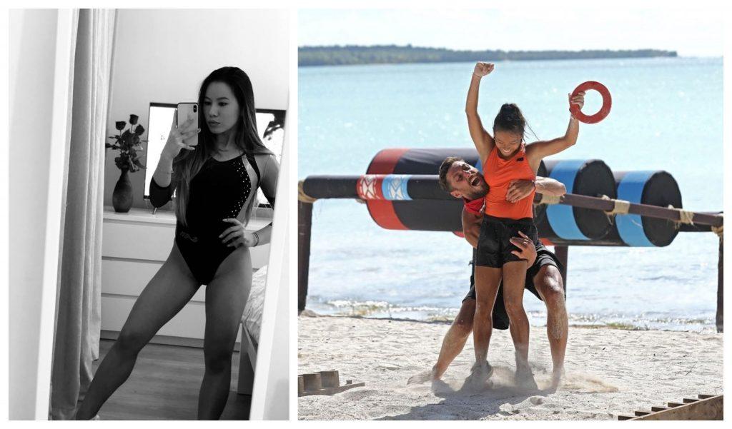 Asiana Peng, fostă sportivă din lotul olimpic de gimnastică al României © Facebook/Kanal D