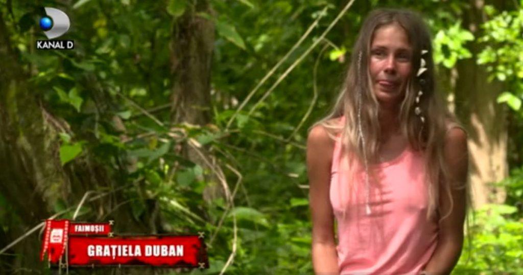 Graţiela Duban, în cadrul interviului în care a vorbit despre dorul mistuitor de soţul ei @ Kanal D