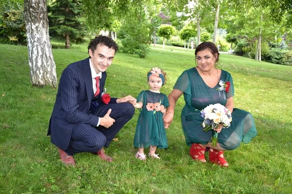 Laura și Andrei Tănasă mai au o fetiță împreună © Facebook