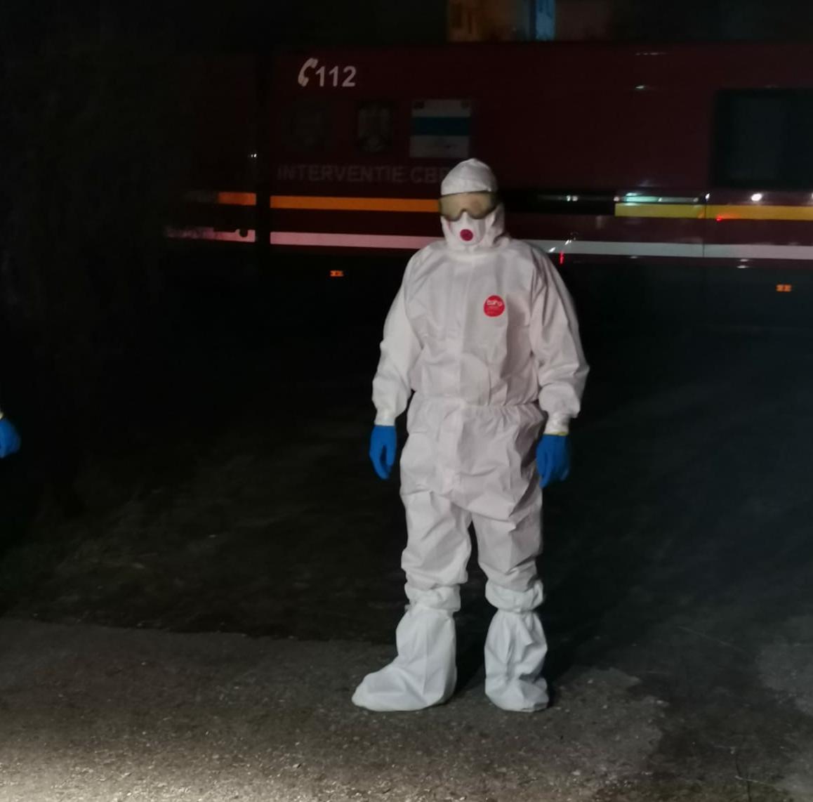 Pompierul de la ISU Olt care s-a întors la muncă, deși avea tot dreptul să stea acasă cu fiul lui nou-născut