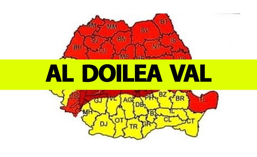 E oficial! Al doilea val de coronavirus va lovi România. Când se va întâmpla asta
