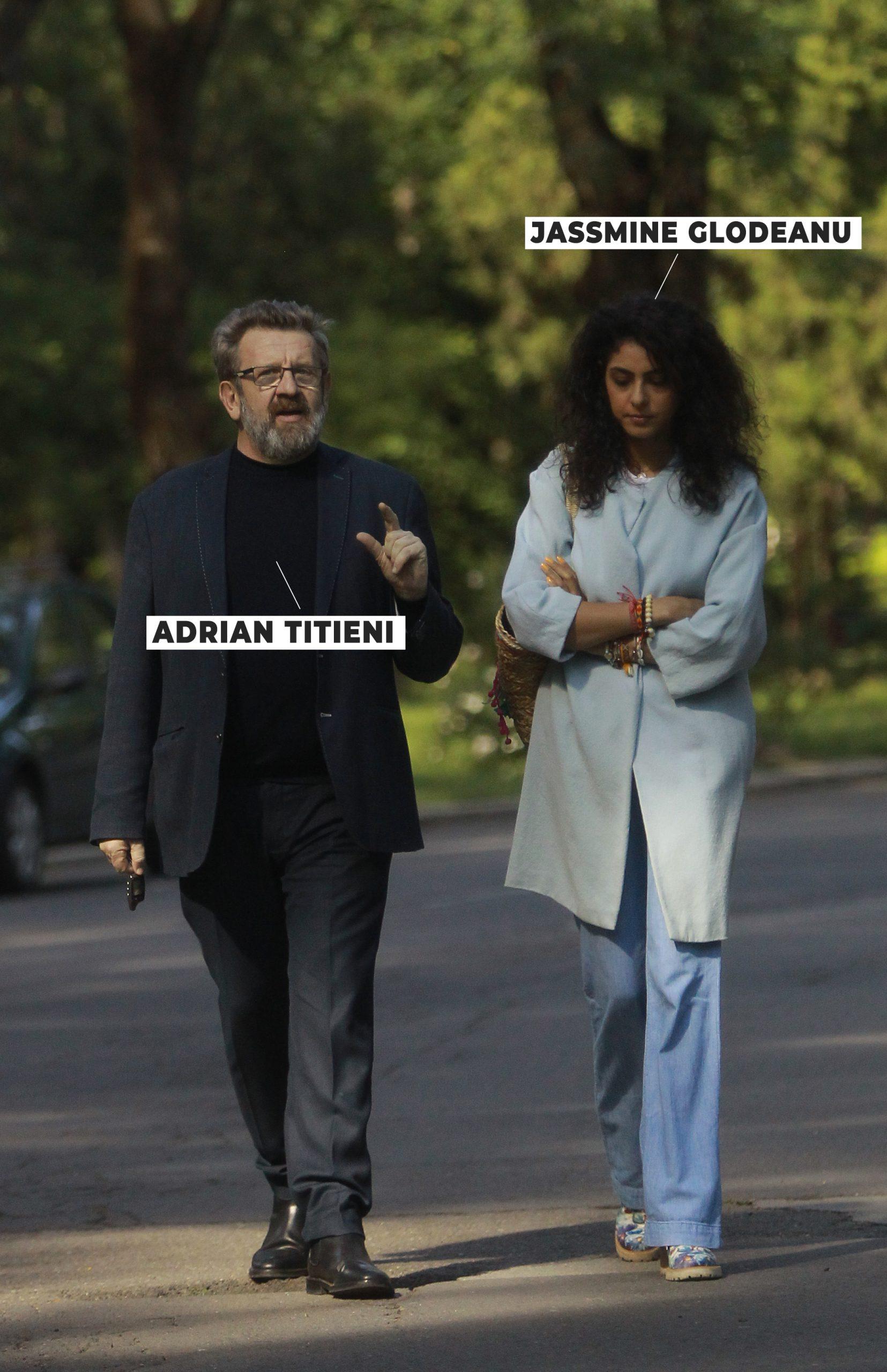 Adrian Titieni și Jassmine Glodeanu, plimbare romantică prin Herăstrău