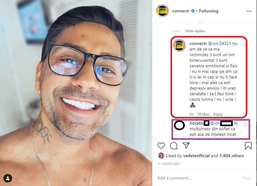 Connect-R, în scandal cu fanii pe social media de la o postare motivațională © Instagram