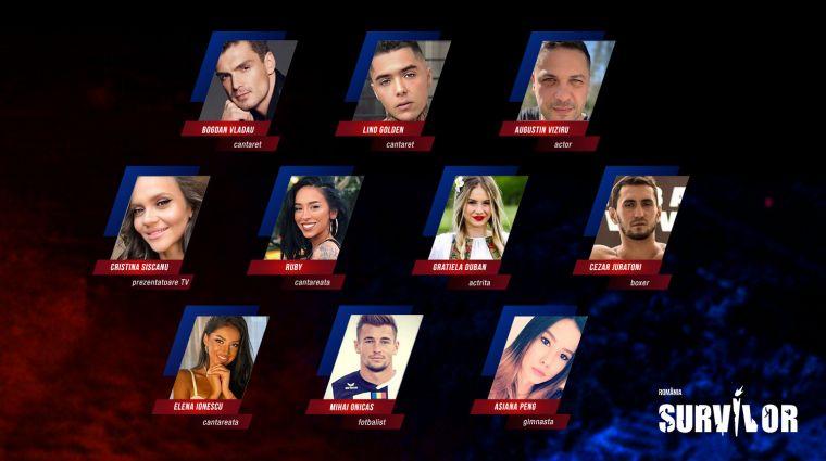 """Ei sunt concurenții care au făcut parte din echipa """"Faimoșii"""" de la """"Survivor România"""" © wowbiz.ro"""