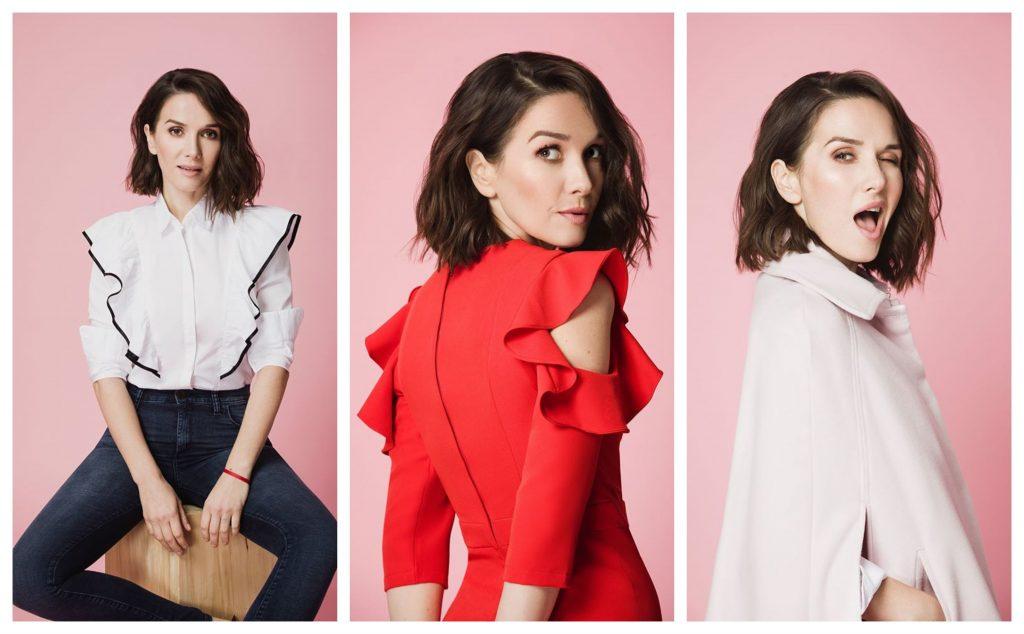 Aceste poze sunt doar trei dintre cele șase făcute făcute publice de frumoasa actriță în urmă cu aproape două luni © Facebook