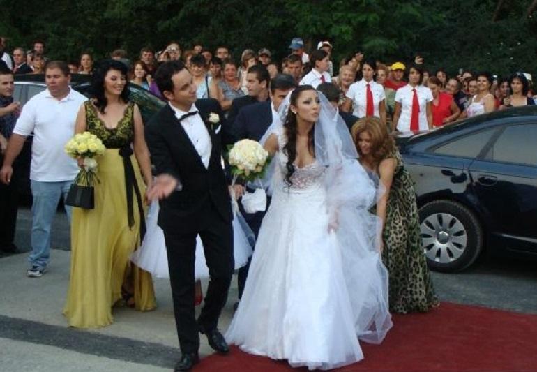 Andra a devenit soția lui Cătălin Măruță chiar în ziua în care ea a împlinit 22 de ani, respectiv pe 23 august 2008 © gds.ro