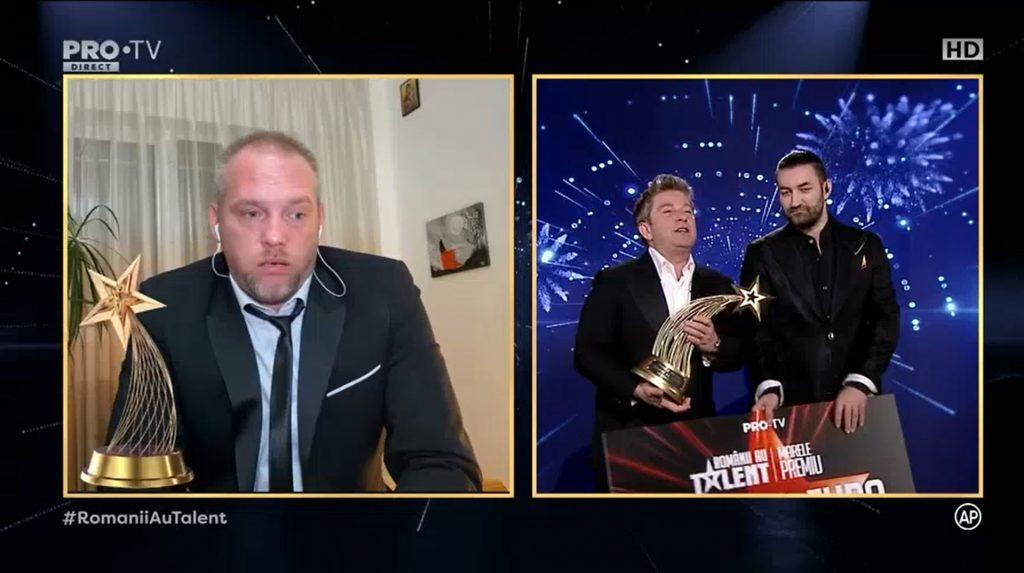 "Radu Palaniță, câștigătorul ""Românii au talent"" 2020 © Pro TV"