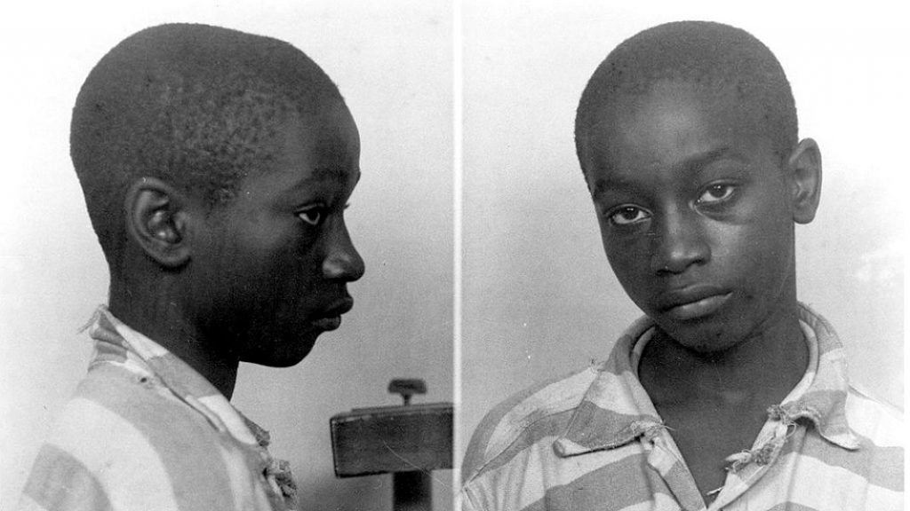 George Stinney avea doar 14 ani când a fost executat pe scaunul electric