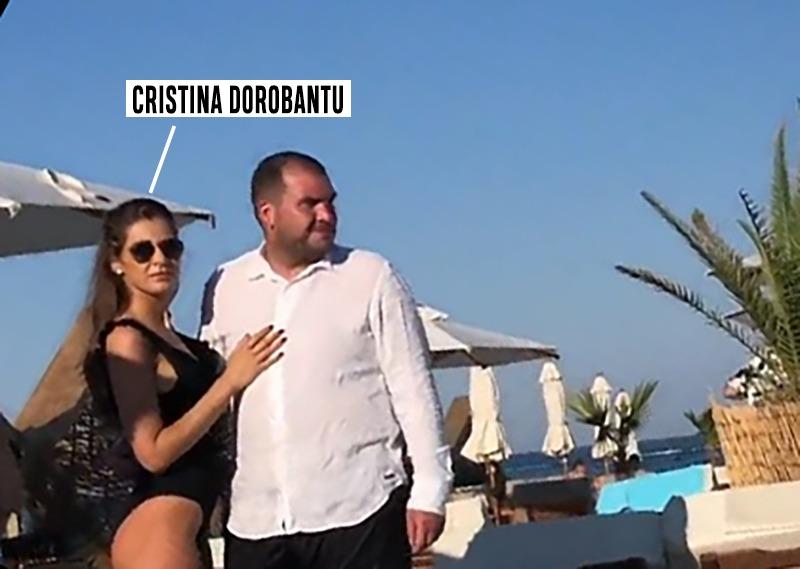Cristina Dorobanțu și iubitul ei au petrecut în Mamaia