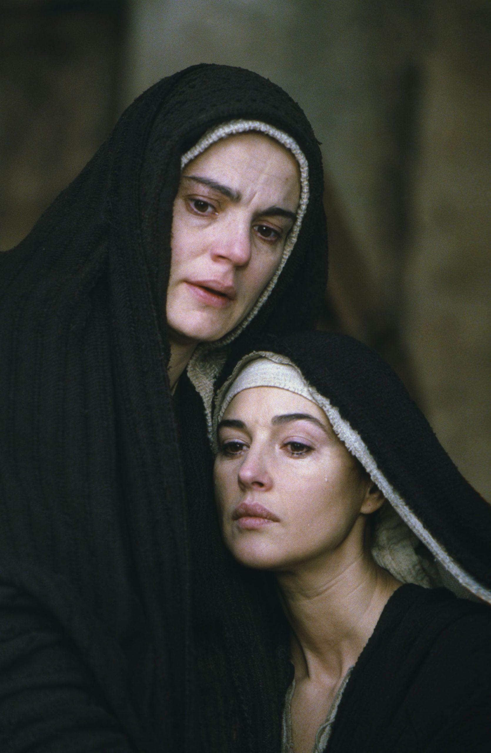 Maia Morgenstern și Monica Bellucci