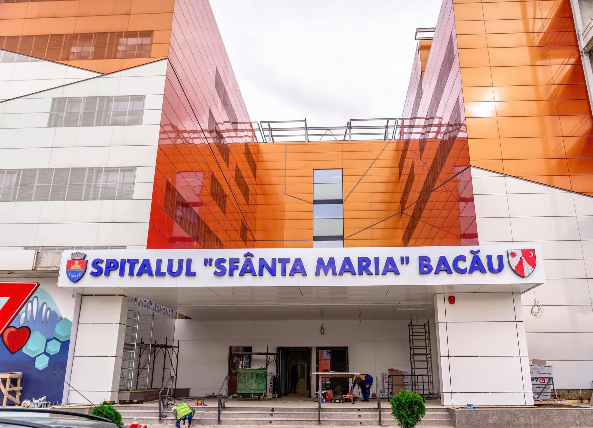 Spitalul din Bacău a devenit funcțional în 40 de zile, după 13 ani în care lucrările au trenat
