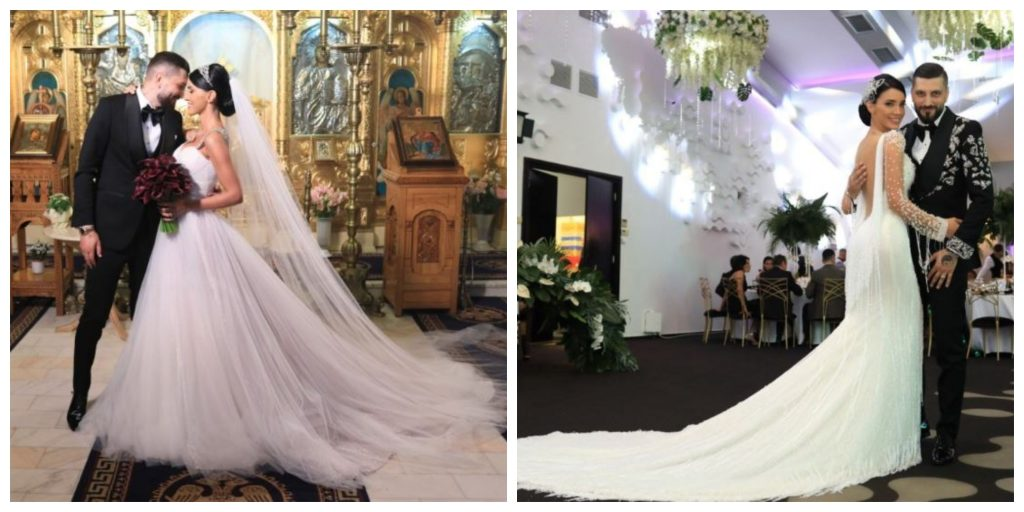 Adelina Pestrițu își vinde rochia de mireasă purtată în biserică pentru o cauză nobilă © edamagazine.ro