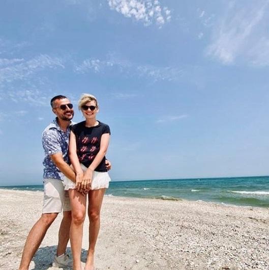 Ioana și Ducu, la mare