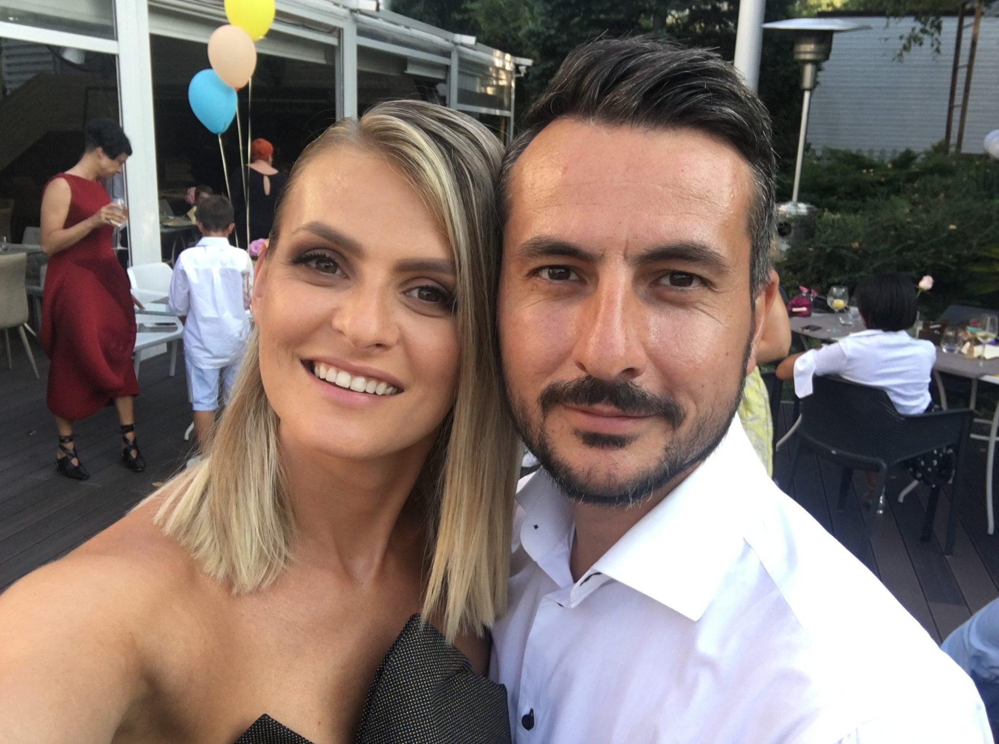 Ioana și Ducu, un cuplu fericit