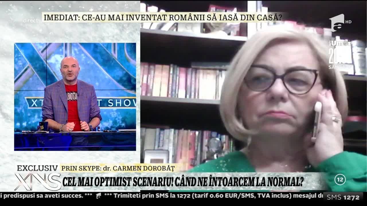 Medicul Carmen Dorobăț, o prezență constantă în media