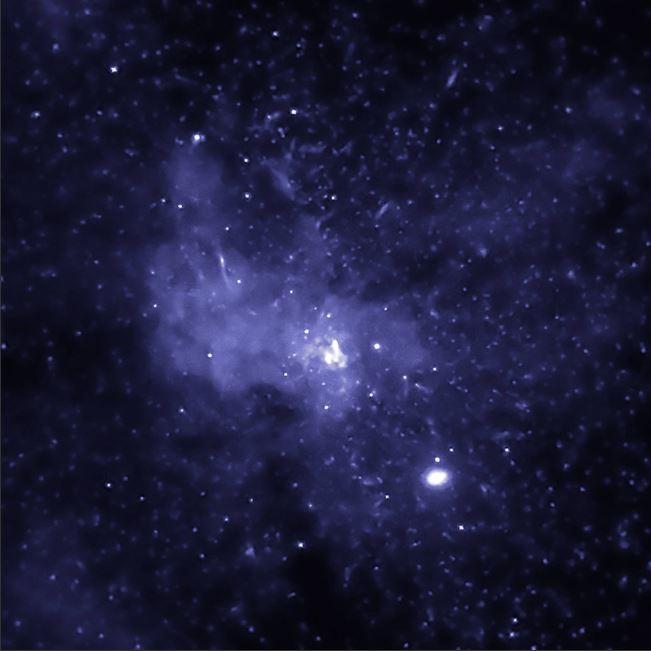 Gura neagră Bounty, capturată în centrul Căii Lactee © nasa.gov