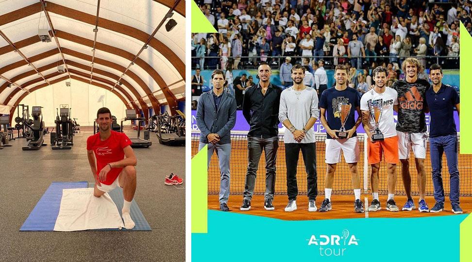 Novak Djokovic a contractat noul coronavirus. Alți 3 sportivi au fost testați pozitiv, după ce au participat la Adria Tour, organizat în plină pandemie