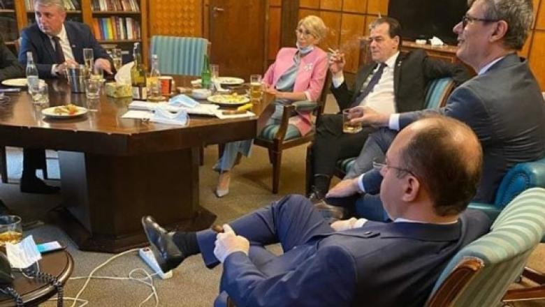 Direcția Generală de Poliție a Municipiului București a aplicat sâmbătă amenzi pentru cei patru membri ai Cabinetului Orban prezenți la aniversarea lui Ludovic Orban
