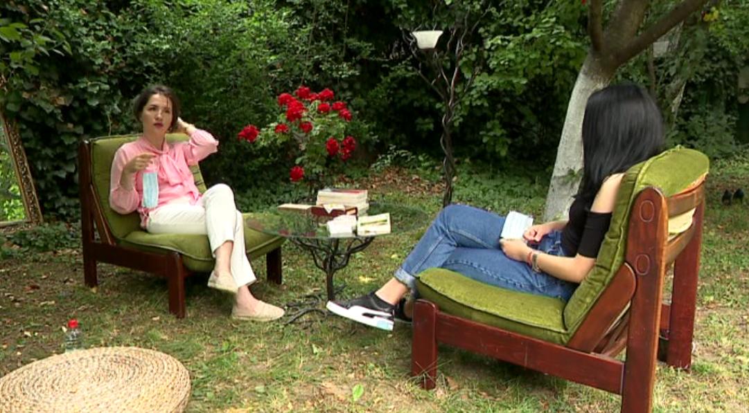 Grădina unde psihologul își ține, mai nou, ședințele