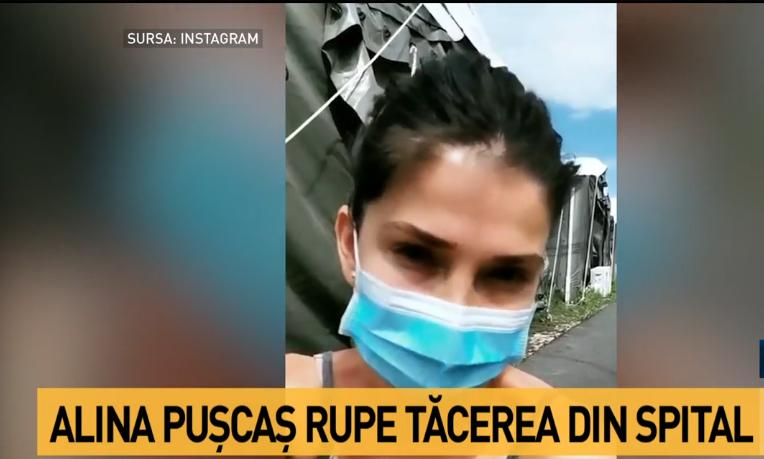 """Alina Pușcaș, vedeta de la Antena 1, dezvăluiri din spitalul mobil pentru COVID-19: """"Nu vreau dosar penal!"""""""