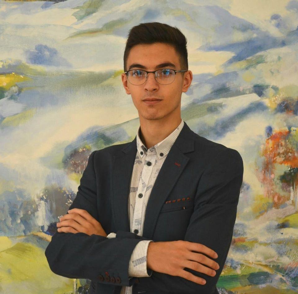 Sebastian Bobeică a luat media 10 la examenul de Bacalaureat 2020
