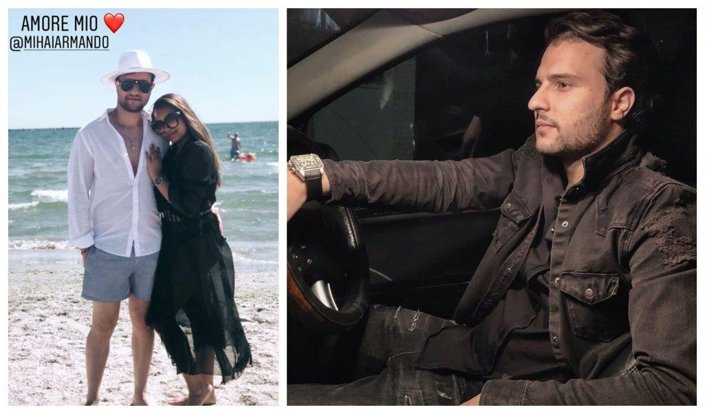 Adriana Simionescu și Mihai Armando formează un cuplu de câteva luni © Instagram Stories / Facebook