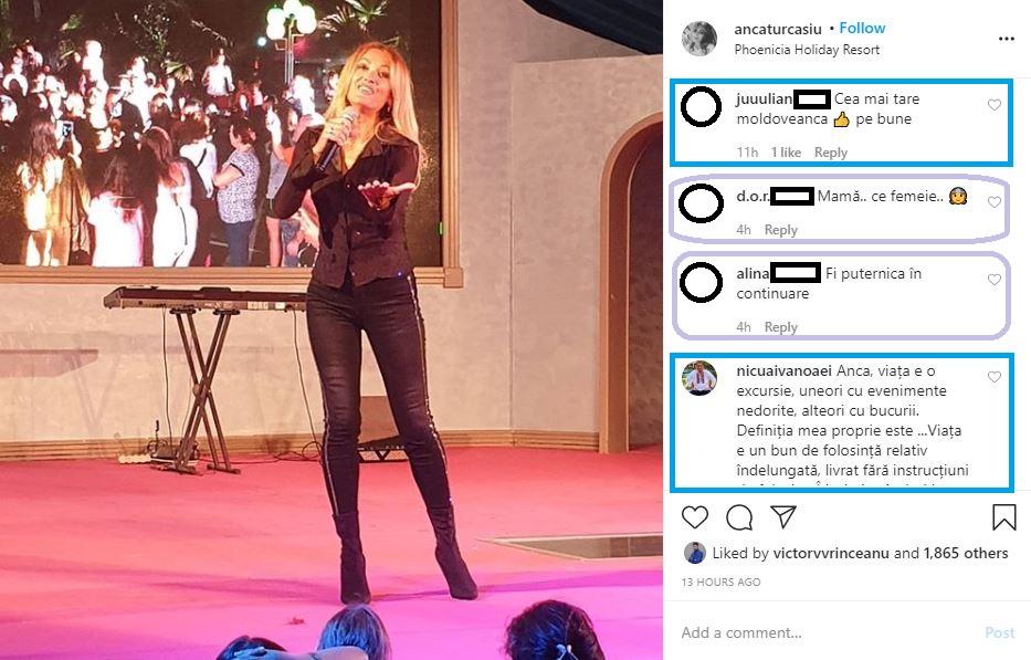 Anca Țurcașiu, prima apariție publică după ce a anunțat că a divorțat de medicul stomatolog Cristian Georgescu © Instagram