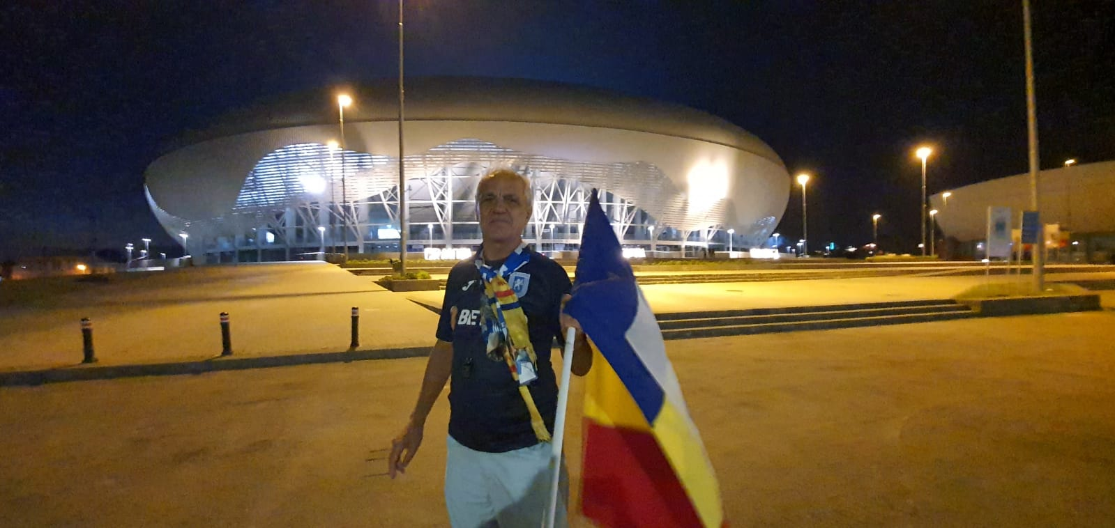 Ion Popa a venit din Băilești doar ca să stea la poarta stadionului în timpul meciului echipei favorite