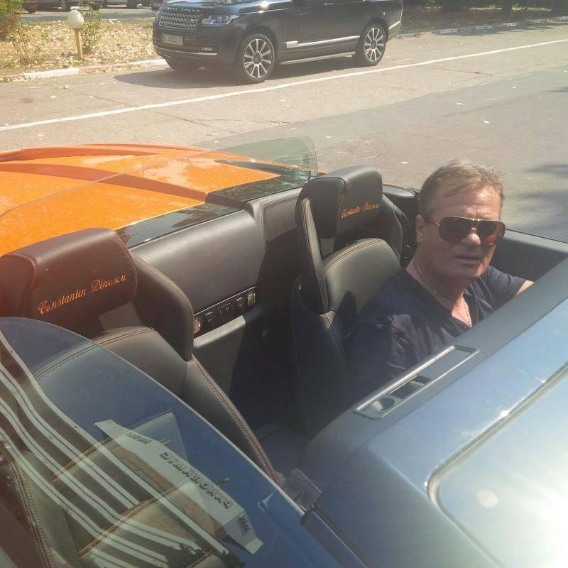 Constantin Dinescu și-a personalizat Lamborghini-ul