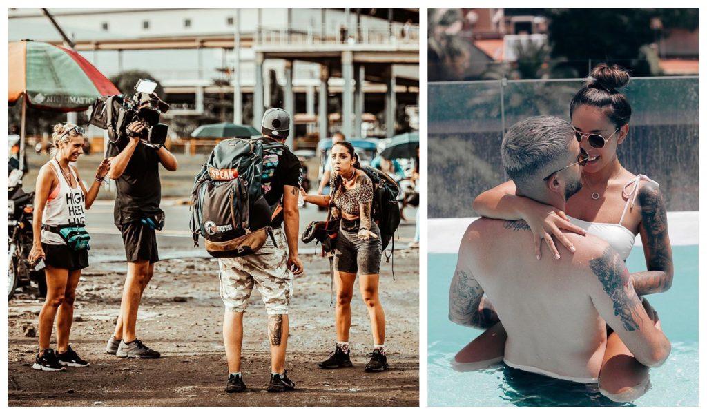 """Cei doi artiști s-au numărat printre concurenții de la """"Asia Express – Drumul comorilor"""" și au ajuns până în finala emisiunii de la Antena 1 © Facebook"""