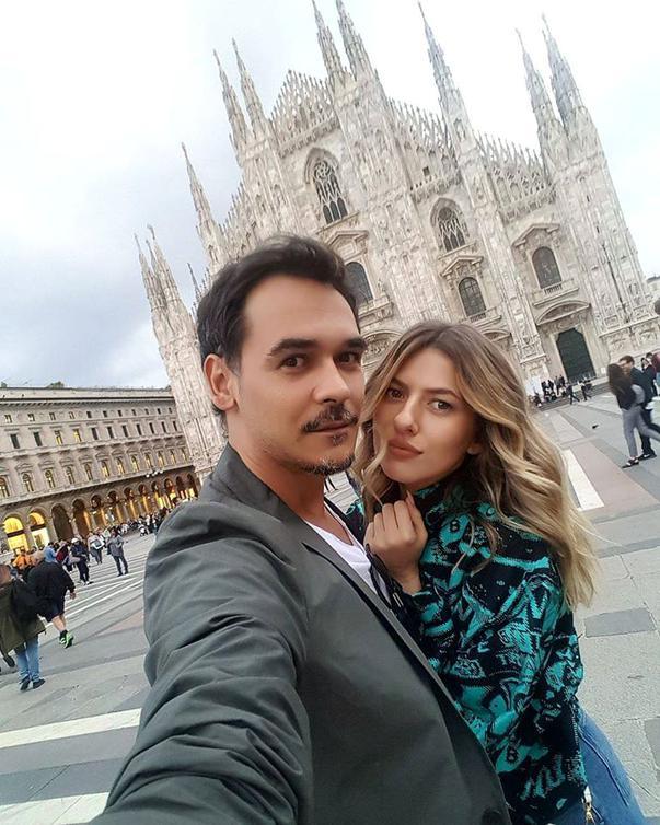 Răzvan și Lidia, când erau împreună