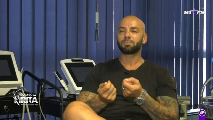 Recent, Giani Kiriță a vorbit despre problemele de sănătate cu care se confruntă în prezent, dar și despre cele din trecut © Antena Stars