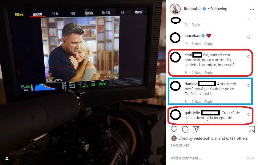 """Lidia Buble și artiștii trupei Vunk au filmat azi videoclipul pentru melodia la care au colaborat împreună, """"Vino / Du-te"""" © Instagram"""