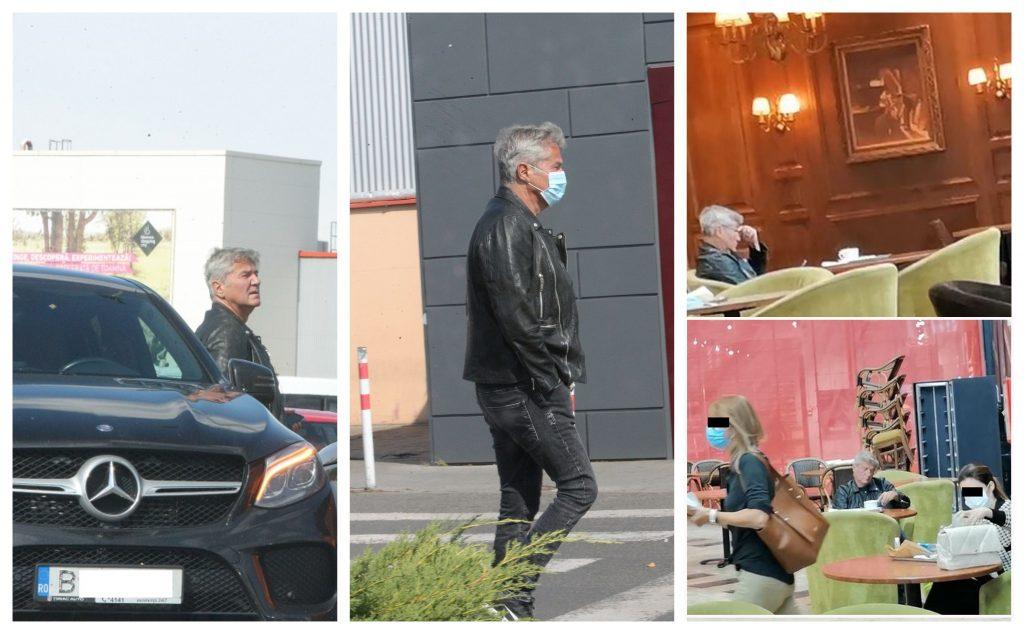 Dan Bittman, surprins de paparazzii CANCAN.RO în timp ce era singur-singurel la o cafea cu parfum de tristețe