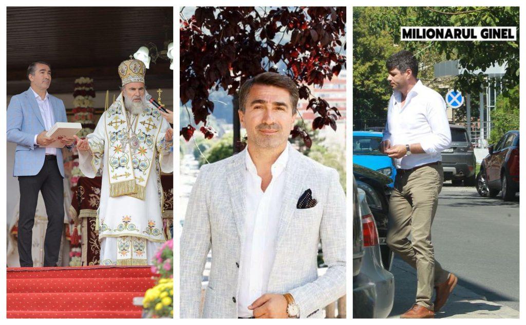 Baronul PSD, Ionel Arsene, președintele ales al CJ Neamț, nu va avea majoritate în Consiliul Județean. El a sărbătorit victoria în București, alături de finul său, Ginel © Facebook / CANCAN.RO