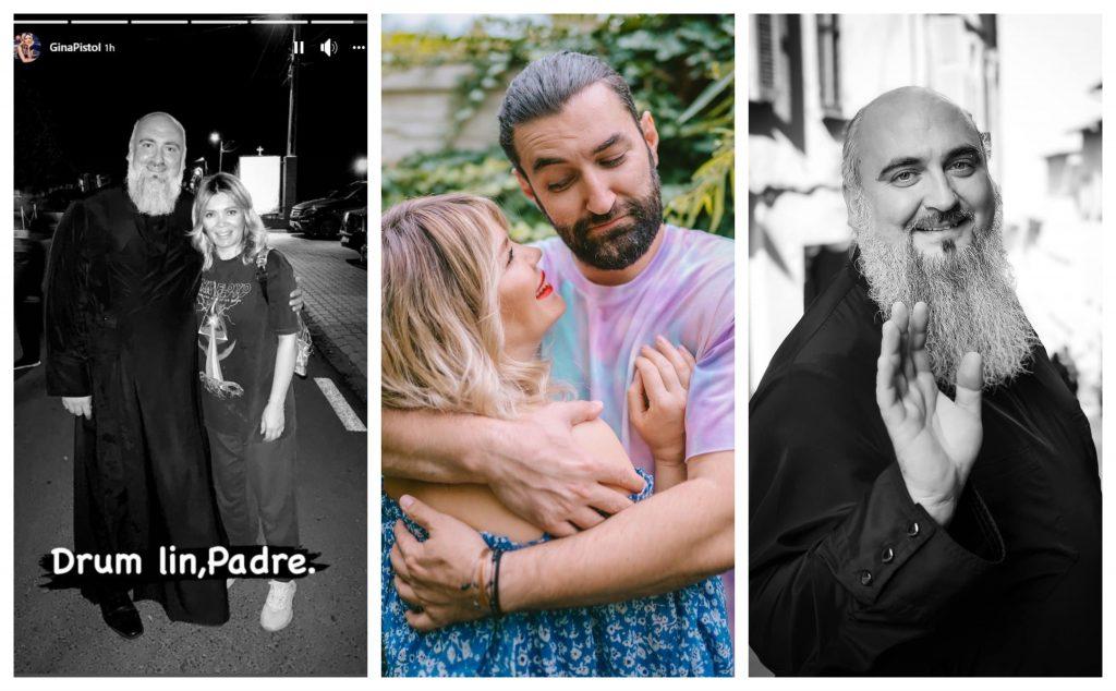 Gina Pistol a publicat o poză de album cu părintele Varlaam și a scris un mesaj copleșitor pe imagine. Starețul Mănăstirii Partoş, bolnav de coronavirus, a murit la 42 de ani © Facebook / Facebook Stories