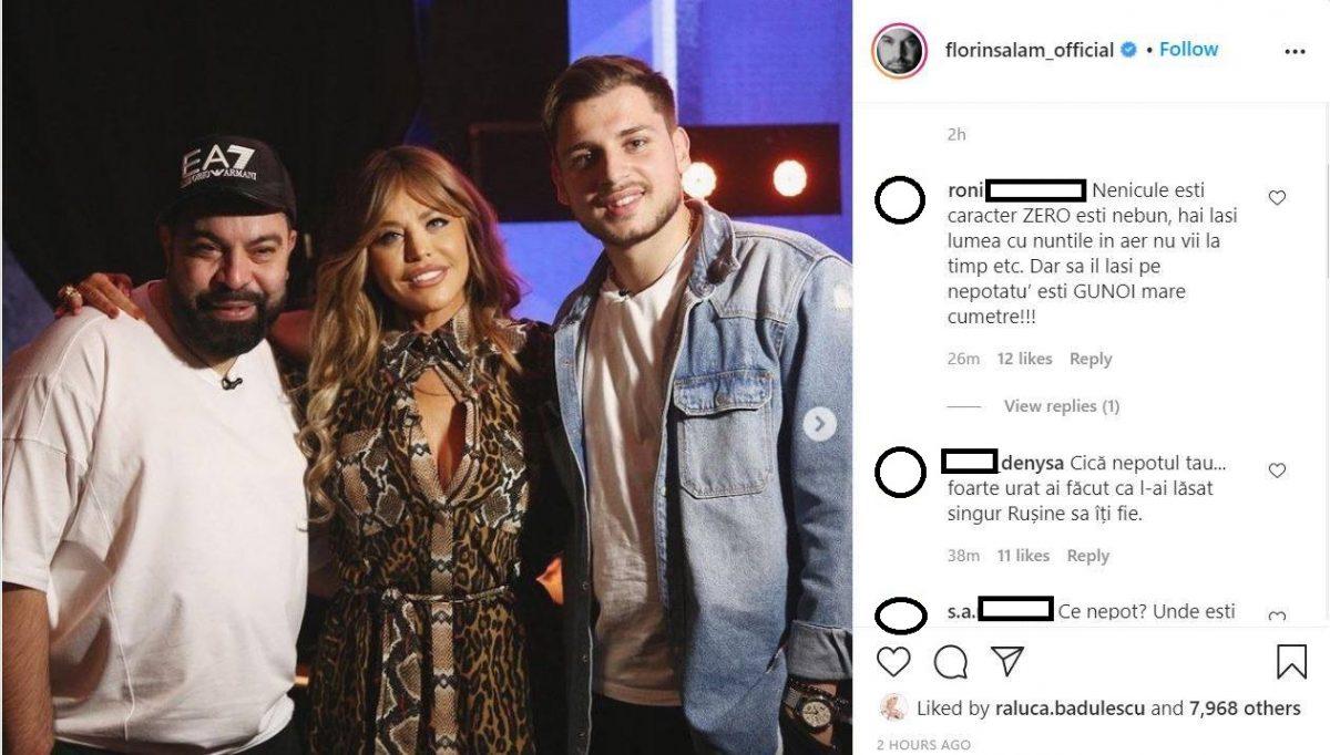 Florin Salam a fost aspru criticat după ce s-a aflat că nu și-a onorat invitația de a cânta alături de Adrian Petrache în ultima ediție a show-ului muzical de la Antena 1 © Instagram
