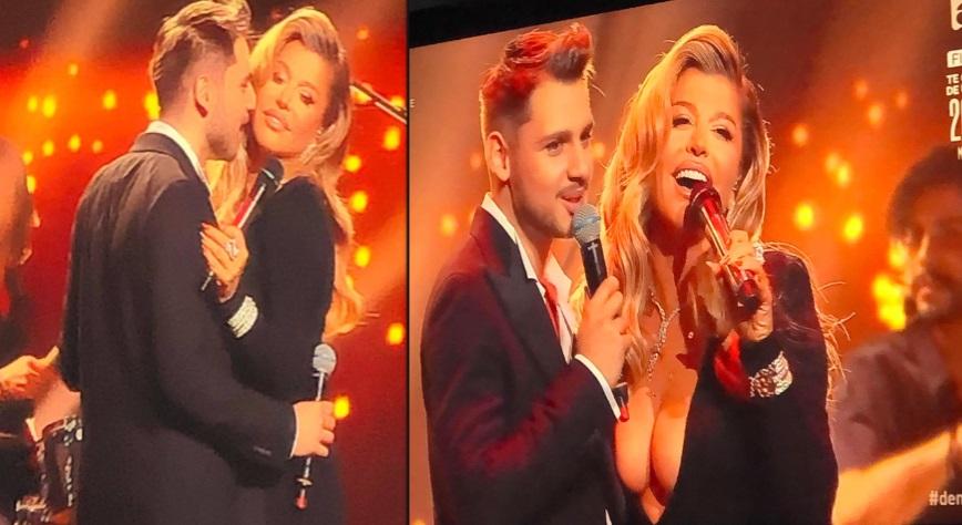 Loredana Groza și nepotul lui Florin Salam, în tandrețuri pe scena X Factor. S-au comportat ca doi îndrăgostiți - Cancan.ro
