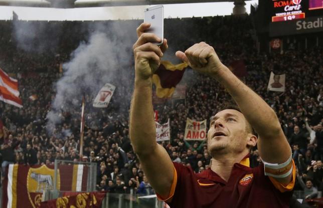 Francesco Totti, șase ani de la un moment istoric și un selfie special - Cancan.ro