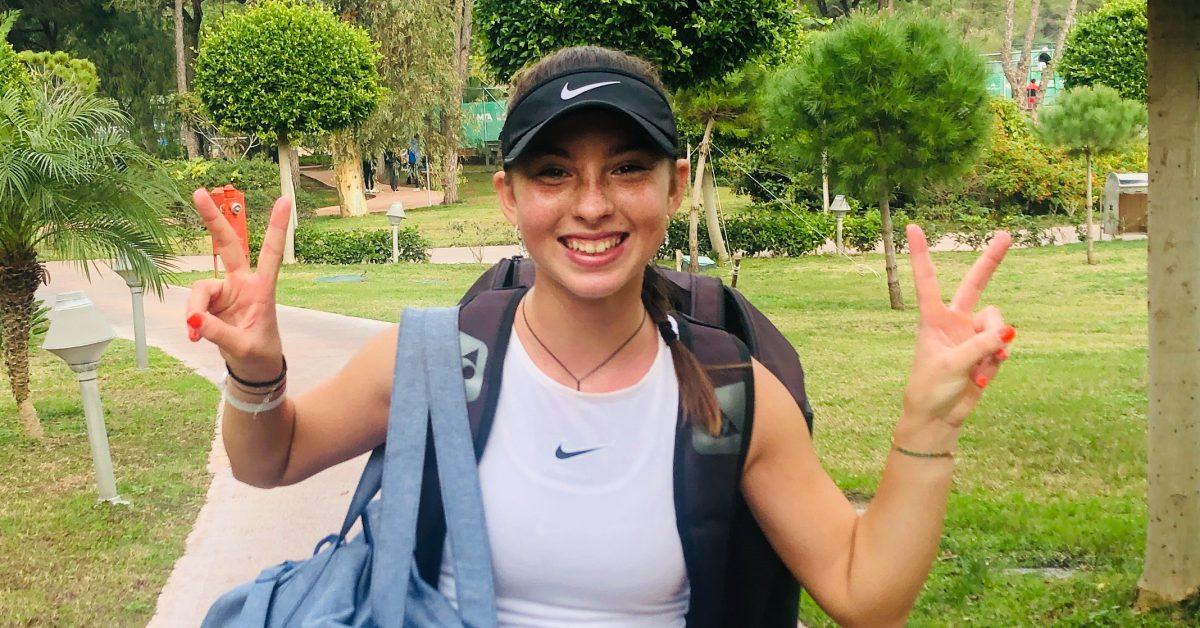 Maria Sara Popa, printre cele mai tinere jucătoare din lume cu un punct WTA - Cancan.ro
