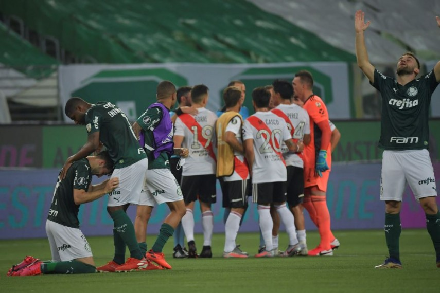 Palmeiras, calificare cu emoții în finala Libertadores