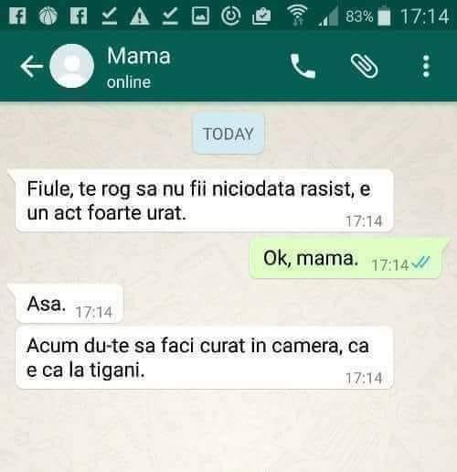 Greșeala făcută de o mamă, după ce i-a explicat fiului de ce nu este bine să fie rasist © Facebook