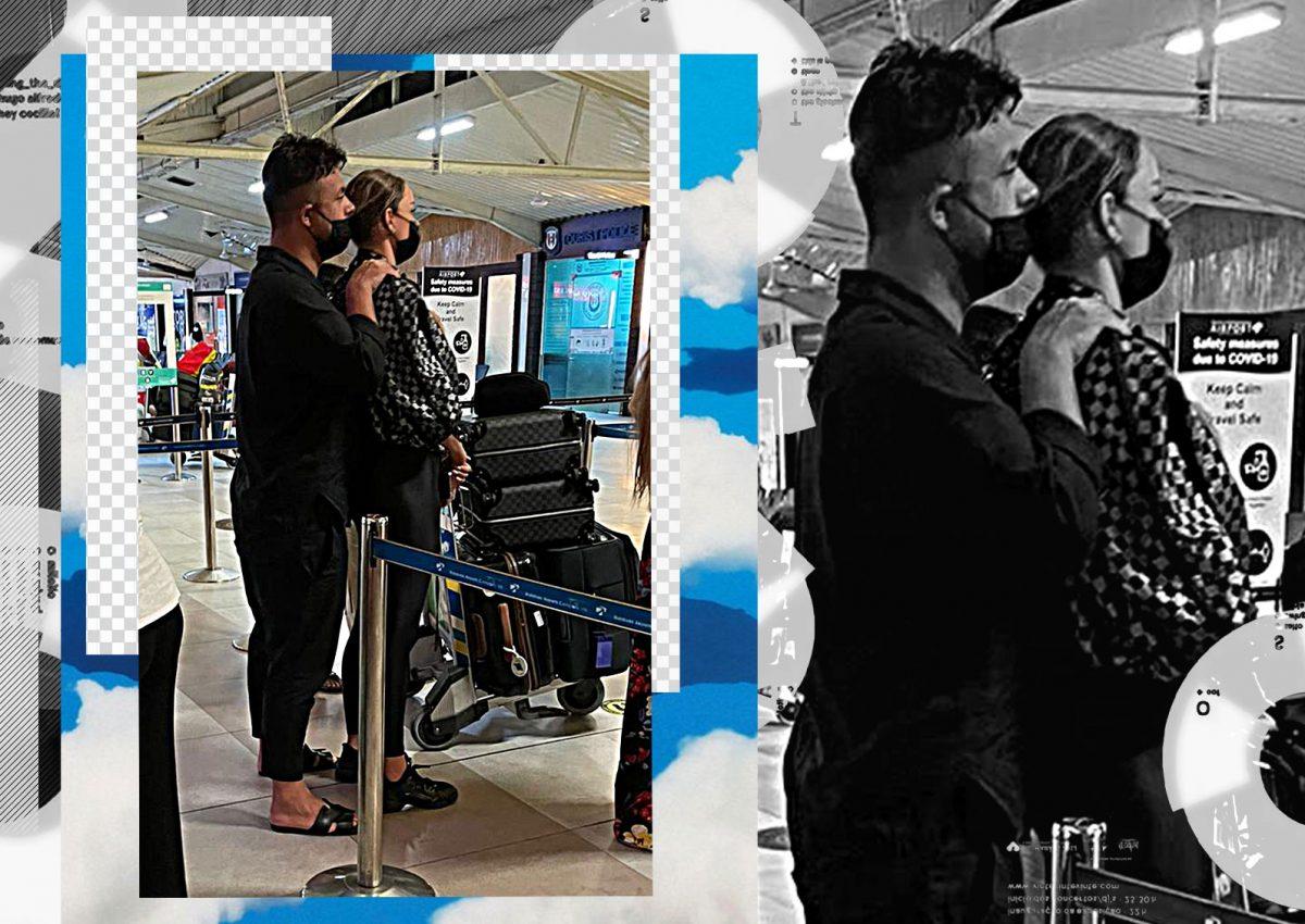 Bianca Drăgușanu și Gabi Bădălău, fotografiați îmbrățișați pe aeroportul din Male!