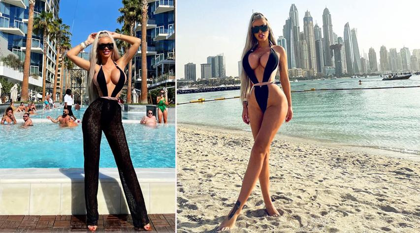 Loredana Chivu s-a întors în urmă cu câteva zile bune din vacanța de vis petrecută în Dubai împreună cu fratele ei, Ana Maria Mocanu, Simona Trașcă și încă două prietene © Facebook