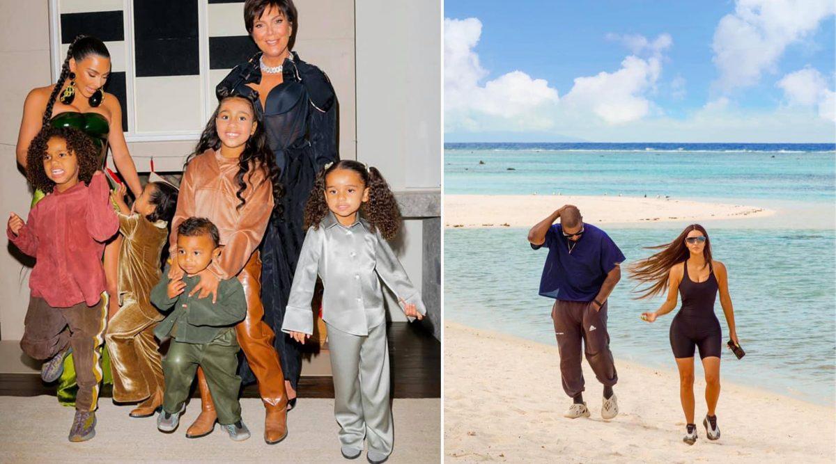 Kim Kardashian și Kanye West au patru copii împreună: North, Saint, Chicago și Psalm © Facebook