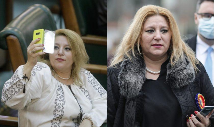 Senatoarea Diana Șoșoacă, nou scandal cu jandarmii. Cum motivează refuzul de a purta mască