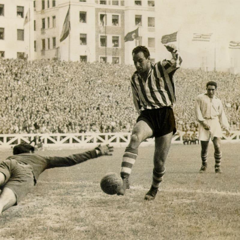 15 ani de la moartea lui Telmo Zarra, golgeterul absolut al lui Bilbao
